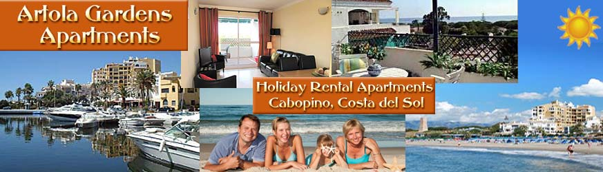 Cabopino holiday rental apartments, Costa del Sol